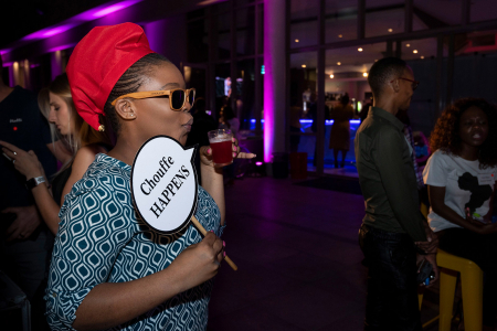 Sandton hotel party, South Africa, 2020